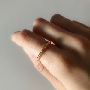 Jewelry - set of gold rings